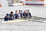 The Boat Race season 2012 - fixture CUBC vs Leander. River Thames between Putney and Molesey, London, Greater London, United Kingdom, on 10 March 2012 at 13:07, image #13