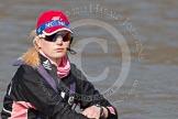 Cox in the Leander Club Eight: Katie Klavenes, finallist, Ladies Challenge Plate, Henley Royal Regatta 2011.