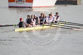 The Leander Club Eight, cox Katie Klavenes, stroke Vasillis Ragoussis, Cameron MacRitchie, Sean Dixon, Tom Clark, John Clay, Will Gray, Sam Whittaker, and bow Oliver Holt.
