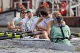CUBC Blue Boat: Bow Moritz Schramm, David Nelson, Mike Thorp, Jack Lindeman, Alexander Scharp, Steve Dudek, Alex Ross, stroke Niles Garratt, and cox Ed Bosson.