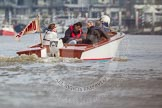 The Boat Race season 2012 - fixture CUBC vs Leander: The Umpire for the 2012 Boat Race, John Garrett.. River Thames between Putney and Molesey, London, Greater London, United Kingdom, on 10 March 2012 at 14:05, image #70