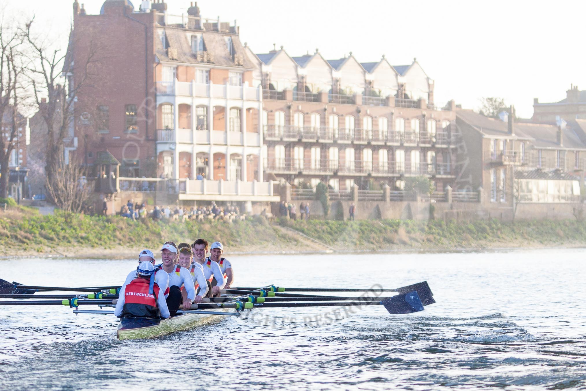 The Boat Race season 2014: OUBC vs. German U23 Photos ...