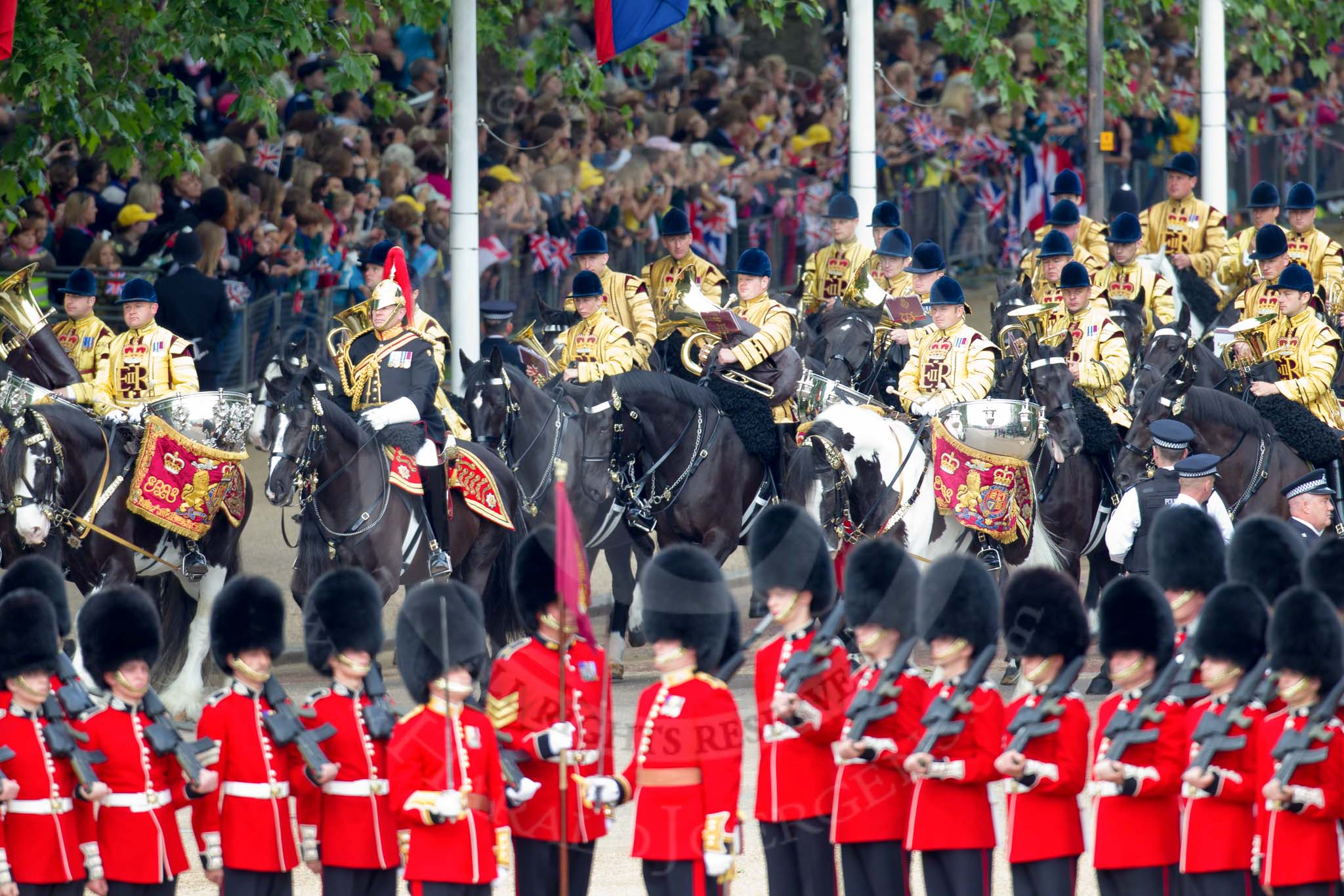 Queen's Birthday Parade 2010 - Trooping the Colour Photos ...