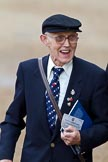 The Major General's Review 2011: An enthusiastic spectator, member of the Royal British Legion, probably a veteran.. Horse Guards Parade, Westminster, London SW1, Greater London, United Kingdom, on 28 May 2011 at 09:53, image #11