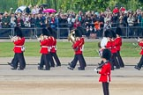 Trooping the Colour 2011: The Band of the Scots Guards, marching on Horse Guards Road, before turning onto Horse Guards Parade.. Horse Guards Parade, Westminster, London SW1, Greater London, United Kingdom, on 11 June 2011 at 10:30, image #47