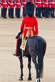 Trooping the Colour 2011: The Adjutant of the Parade, Captain Hamish Barne, 1st Battalion Scots. Guards.. Horse Guards Parade, Westminster, London SW1, Greater London, United Kingdom, on 11 June 2011 at 10:36, image #59