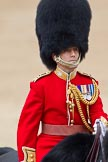 Trooping the Colour 2011: Close-up of the Brigade Major Household Division, Lieutenant Colonel A P Speed, Scots Guards.. Horse Guards Parade, Westminster, London SW1, Greater London, United Kingdom, on 11 June 2011 at 11:07, image #167