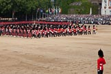 Trooping the Colour 2011: The Massed Bands playing during the Troop.. Horse Guards Parade, Westminster, London SW1, Greater London, United Kingdom, on 11 June 2011 at 11:11, image #180