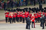 The Colonel's Review 2012: The Band of the Welsh Guards marching from the Mall towards Horse Guards Parade, led by Senior Drum Major M Betts, Grenadier Guards.. Horse Guards Parade, Westminster, London SW1,  United Kingdom, on 09 June 2012 at 10:09, image #14
