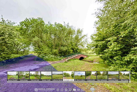 Screenshot of the Lapal Canal Virtual Tour by Harald Joergens Photography