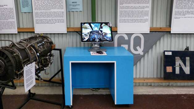 Interactive Panorama of a Lightning cockpit at the Tangmere Military Aviation Museum