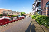 BCN Marathon Challenge 2013: Sherborne Wharf, part of the Oozells Street Loop, looking towards Ladywood junction in the centre of Birmingham, close to Gas Street Basin.. Birmingham Canal Navigation,   United Kingdom, on 24 May 2013 at 18:39, image #1