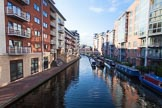 BCN Marathon Challenge 2013: Sherborne Wharf, part of the Oozells Street Loop, looking towards Ladywood junction in the centre of Birmingham, close to Gas Street Basin.. Birmingham Canal Navigation,   United Kingdom, on 24 May 2013 at 18:44, image #2