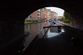 "BCN Marathon Challenge 2013: NB ""Felonious Mongoose"", passing Sheepcote Street Bridge on the BCN Main Line at the start of the BC Marathon Challenge.. Birmingham Canal Navigation,   United Kingdom, on 25 May 2013 at 08:03, image #32"