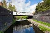 BCN Marathon Challenge 2013: Winson Green Railway Bridge on the Soho Loop (Winson Green Loop), part of the BCN Old Main Line. Just behind the bridge the junction bridge at the New Main Line.. Birmingham Canal Navigation,   United Kingdom, on 25 May 2013 at 08:35, image #62