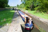 "BCN Marathon Challenge 2013: Narrowboat ""Felonious Mongoose"" rising in Smethwick Lock No. 2.. Birmingham Canal Navigation,   United Kingdom, on 25 May 2013 at 09:10, image #94"