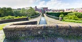 BCN Marathon Challenge 2013: The Engine Branch, originally a feeder for the BCN, with Telford Aqueduct  crossing the New Main Line.. Birmingham Canal Navigation,   United Kingdom, on 25 May 2013 at 09:22, image #102