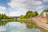 BCN Marathon Challenge 2013: Deepfields Junction, on the BCN New Main Line, where the former Wednesbury Oak Loop, now called the Bradley Arm, joins.. Birmingham Canal Navigation,   United Kingdom, on 25 May 2013 at 15:20, image #209