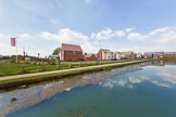 BCN Marathon Challenge 2013: A new housing development near Dudley Sreet Bridge at the  Bradley Branch, once part of the long and winding Wednesday Oak Loop.. Birmingham Canal Navigation,   United Kingdom, on 25 May 2013 at 15:47, image #218
