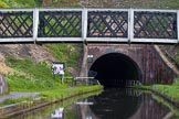 BCN Marathon Challenge 2013: The western entrance of Coseley Tunnel on the BCN New Main Line.. Birmingham Canal Navigation,   United Kingdom, on 25 May 2013 at 17:21, image #255