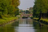"""BCN Marathon Challenge 2013: """"Dunkirk Stop"""" on the BCN New Main Line near Albion Junction, a former toll island.. Birmingham Canal Navigation,   United Kingdom, on 25 May 2013 at 18:36, image #289"""