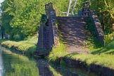 BCN Marathon Challenge 2013: Factory bridge to a former canal basin near Albion Junction. The long focal lenth used makes the approach to the bridge look much shorter than it is in reality.. Birmingham Canal Navigation,   United Kingdom, on 25 May 2013 at 18:38, image #290