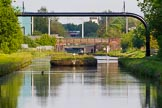 """BCN Marathon Challenge 2013: """"Dunkirk Stop"""" on the BCN New Main Line near Albion Junction, a former toll island.. Birmingham Canal Navigation,   United Kingdom, on 25 May 2013 at 18:41, image #292"""