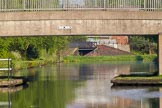 BCN Marathon Challenge 2013: Albion Bridge, on the BCN New Main Line, just east of Pudding Green Junction, and a factory bridge well behind the junction.. Birmingham Canal Navigation,   United Kingdom, on 25 May 2013 at 18:52, image #298