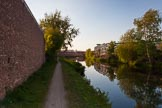 BCN Marathon Challenge 2013: Wednesbury Old Canal near Pudding Green Junction and the BCN New Main Line.. Birmingham Canal Navigation,   United Kingdom, on 25 May 2013 at 19:04, image #302