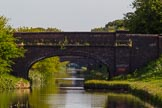 BCN Marathon Challenge 2013: Three bridges in a row on the Cannock Extension Canal - Walsall Common, Pelsall Common, and Green Bridge.. Birmingham Canal Navigation,   United Kingdom, on 26 May 2013 at 08:14, image #363