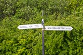 BCN Marathon Challenge 2013: BCNS signpost for the Catshill Junction on the Wyrley & Essington Canal.. Birmingham Canal Navigation,   United Kingdom, on 26 May 2013 at 10:00, image #375