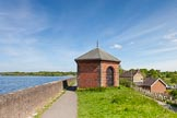 BCN Marathon Challenge 2013: Chasewater Reservoir at the end of the Anglesey Branch of the Wyrley & Essington Canal.. Birmingham Canal Navigation,   United Kingdom, on 26 May 2013 at 10:56, image #398