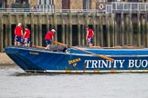 "TOW River Thames Barge Driving Race 2013: Barge ""Diana"", by Trinity Buoy Wharf.. River Thames between Greenwich and Westminster, London,  United Kingdom, on 13 July 2013 at 13:24, image #329"