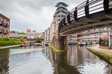 BCN Marathon Challenge 2014: Ladywood Junction, with the BCN Main Line on the left, and Oozells Street Loop on the right.. Birmingham Canal Navigation,   United Kingdom, on 23 May 2014 at 13:27, image #1