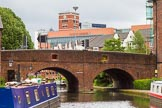 BCN Marathon Challenge 2014: Sheepcote Street Bridge on the BCN Main Line, with Old Turn Junction ahead. Birmingham Canal Navigation,   United Kingdom, on 23 May 2014 at 13:29, image #2