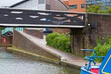 BCN Marathon Challenge 2014: Old Turn Junction on the BCN Main Line. On the right is Oozells Street Loop, Farmers Bridge Locks are on the left. Birmingham Canal Navigation,   United Kingdom, on 23 May 2014 at 13:32, image #4