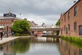 BCN Marathon Challenge 2014: Tindal Bridge on the Birmingham & Fazeley Canal near Old Turn Junction. Birmingham Canal Navigation,   United Kingdom, on 23 May 2014 at 13:34, image #7