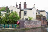 BCN Marathon Challenge 2014: BCN House #43 at the Birmingham & Fazeley Canal, opposite Cambrian Wharf. Birmingham Canal Navigation,   United Kingdom, on 23 May 2014 at 13:36, image #12