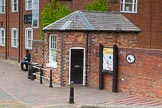 BCN Marathon Challenge 2014: The hexagonal BCN Toll Office at the top of Farmers Bridge Flight on the Birmingham & Fazeley Canal.. Birmingham Canal Navigation,   United Kingdom, on 23 May 2014 at 13:44, image #16