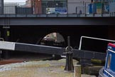 BCN Marathon Challenge 2014: The Birmingham & Fazeley Canal passes below Newhall Street. Birmingham & Fazley Canal, Famers Bridge Locks.. Birmingham Canal Navigation,   United Kingdom, on 23 May 2014 at 14:27, image #27
