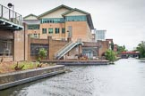 BCN Marathon Challenge 2014: Modern buildings at the Digbeth Branch ahead of ahead of Ashted Tunnel.. Birmingham Canal Navigation,   United Kingdom, on 23 May 2014 at 15:31, image #46