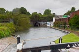 BCN Marathon Challenge 2014: Ashted Tunnel on the Digbeth Branch, seen from Ahted Lock Nr 2.. Birmingham Canal Navigation,   United Kingdom, on 23 May 2014 at 15:55, image #49