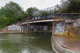 BCN Marathon Challenge 2014: Digbeth Junction (Proof House Junction), where the Digbeth Branch meets the Grand Union Canal (Warwick & Birmingham Canal(. Birmingham Canal Navigation,   United Kingdom, on 23 May 2014 at 16:35, image #57