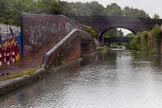 BCN Marathon Challenge 2014: Factory bridge once serving ??? on the Grand Union Canal near Digbeth Junction and the FMC warehouse. Birmingham Canal Navigation,   United Kingdom, on 23 May 2014 at 16:39, image #62