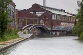 BCN Marathon Challenge 2014: Bordesley Junction seen from the Digbeth Branch. The canal turns to the right towards London, to the left is the Grand Union Canal (Birmingham & Warwick Junction Canal).. Birmingham Canal Navigation,   United Kingdom, on 23 May 2014 at 16:42, image #66
