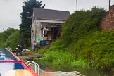 BCN Marathon Challenge 2014: A derelict building at the third Garrison Lock on the Grand Union Canal (Birmingham & Warwick Junction Canal). The last photo before the actual start of the 2014 BCN Marathon Challenge.. Birmingham Canal Navigation,   United Kingdom, on 23 May 2014 at 17:43, image #72