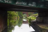 BCN Marathon Challenge 2014: Bridge 108A (Saltley Railway Bridges) and 108 (Saltley Road Bridge, or Saltley Viaduct) on the Grand Union Canal (Birmingham & Warwick Junction Canal) betwee Salford Junction and Garrison Locks. Birmingham Canal Navigation,   United Kingdom, on 24 May 2014 at 08:25, image #74