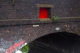 BCN Marathon Challenge 2014: Bridge 106 (Duddeston Mill Road Bridge ) at Garrison Locks on the Grand Union Canal (Birmingham & Warwick Junction Canal). The fire doors were added during WWII for the Birmingham Fire Brigade to pump water from the canal if needed. Birmingham Canal Navigation,   United Kingdom, on 24 May 2014 at 08:38, image #77