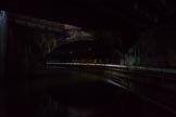 BCN Marathon Challenge 2014: In Curzon Street Tunnel ob the Digbeth Branch, where several railway lines pass over the canal.. Birmingham Canal Navigation,   United Kingdom, on 24 May 2014 at 09:33, image #95