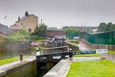 BCN Marathon Challenge 2014: Ashted Locks on the Digbeth Branch, with Curzon Street Bridge ahead. Birmingham Canal Navigation,   United Kingdom, on 24 May 2014 at 09:44, image #97